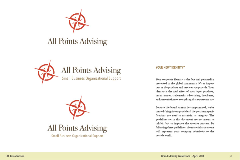 All Points Advising Branding Guideline